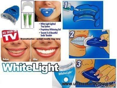 hur man får vita tänder hemma