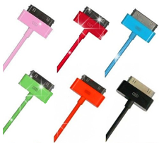 USB-KABEL -  TILL IPHONE 4, 4s