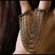 Double Ring Chains
