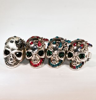 Skull Ring Silver