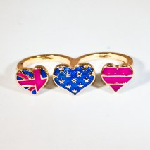 Double Ring Heart