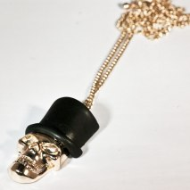 Slash Skull Necklace