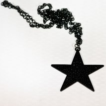 Black Star Necklace