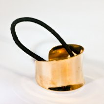 Hair Cuff Metal Gold
