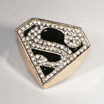 Superman Ring Gold
