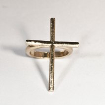 Cross Ring Gold
