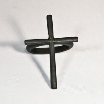 Cross Ring Black