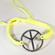 Peace Bracelet Yellow