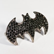 Double Ring Batman Black