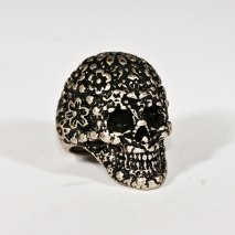 Sugar Skull Ring Bronze