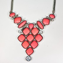 Petronella Necklace  Pink