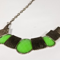 Sandy Necklace Green