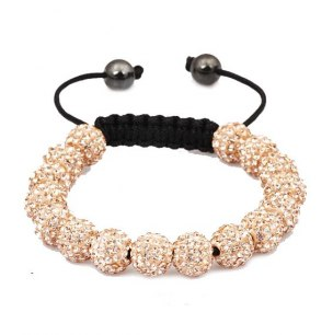Swarovski armband luxury peach (flickvänsfavorit)