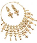 GOLD LUXURY MIDNIGHT NECKLACE