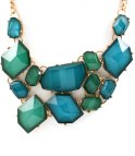 LUXURY STATEMENT DEEP BLUE NECKLACE