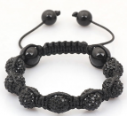 Barn armband - Little Black Diamonds