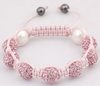 Barn armband - Little Pink Diamonds