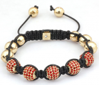 Himlaya armband 18k UNISEX RED/GOLD
