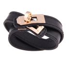 Armband / Rock Chic Double Wrap