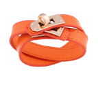 Rock Chic Double Wrap / Orange