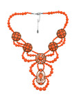 Statement Bib / Orange
