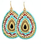 Bohemian Chic - Turkos / Corall