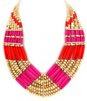 Statement Corall/Pink/Gold