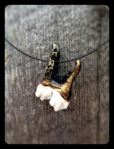 Moose Tooth Jewelry: Burnished Bronze - I